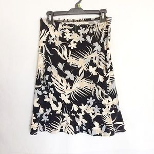 BCBGMAxAZRIA Floral Skirt Size Small